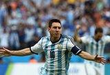 """D.Maradona: """"Pasaulio čempionato likimas priklausys nuo L.Messi"""""""