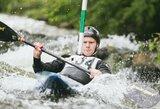 S.Mažeikis - bronzininkas atvirajame Lietuvos baidarių slalomo čempionate
