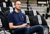 """A.Karnišovo atleistas """"Bulls"""" treneris: """"Jis buvo labai pagarbus"""""""