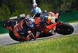 """Stebuklas Čekijoje: """"MotoGP"""" naujokas iš Afrikos sukūrė istoriją"""