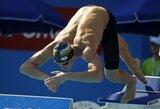 JAV prasidėjusiame NCAA plaukimo čempionate lietuviai nenustebino