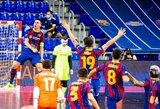 """""""Barcelona"""" po 6 metų pertraukos susigrąžino UEFA futsalo Čempionų lygos titulą"""