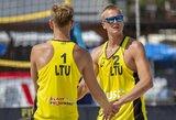 13-ą vietą pasaulio reitinge užimančius latvius nugalėję A.Rumševičius ir L.Každailis iškovojo bronzą