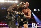 """T.Fury """"pripažino"""" sukčiavęs kovoje su D.Wilderiu ir pasiūlė pagalbą A.Joshua"""