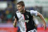 """""""Juventus"""" nuostoliai: M.De Ligtas ir D.Costa gali praleisti rungtynes su """"Atletico"""""""