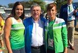 Lietuvos irkluotojas pasveikino IOC prezidentas