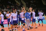 """Vos neprisižaidę """"Vilniaus kolegijos-Flamingo Volley"""" tinklininkai apgynė Lietuvos čempionų titulą"""
