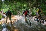 Masiškiausiose MTB lenktynėse – šaknų, smėlio ir žvyro išbandymai