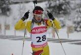 Lietuviams nesėkmingai susiklostė pasaulio jaunimo biatlono taurės etapas Italijoje