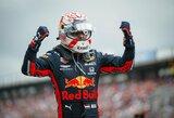 """M.Verstappenas 0.018 sek. skirtumu išplėšė pirmą karjeros """"pole"""" poziciją!"""