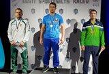 Sugrįžimą ant imtynių kilimo L.Adomaitis pažymėjo K.Palusalu turnyro medaliu