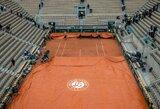 """Prancūzijos teniso federacijos prezidentas nerimauja dėl griežto karantino: """"Gali tekti atšaukti """"Roland Garros"""" turnyrą"""""""