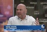 """Dvi svajonių MMA kovas įvardijęs D.White'as: """"Netikiu, kad Conoras baigė karjerą"""""""
