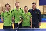 Šį savaitgalį vyko Baltijos šalių stalo teniso čempionatas
