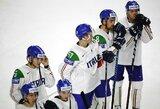 Pamatykite: italai į savo vartus įsimušė kvailiausią pasaulio ledo ritulio čempionato įvartį