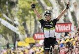"""Norvegas po šešerių metų pertraukos laimėjo """"Tour de France"""" etapą"""