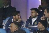 L.Messi jau kurį laiką kenčia dėl kojos traumos