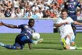 """""""Marseille"""" klubas tęsia sėkmingą sezono pradžią (+ kiti rezultatai)"""