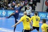 Žvaigždžių perpildyta Prancūzijos rinktinė į Lietuvą atvyko rungtynių išvakarėse