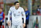 """""""Bayern"""" įvarčių mašinai R.Lewandowskiui bus atlikta operacija"""