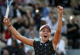 """Pasaka tęsiasi: A.Anisimova – jauniausia šio amžiaus tenisininkė, patekusi į """"Roland Garros"""" ketvirtfinalį"""