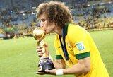 """D.Luizas: """"Italija gali triumfuoti Pasaulio čempionate"""""""