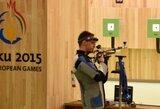 Lietuviai startavo Europos šaudymo čempionate