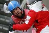 Sensacija: rogučių sporto legenda F.Lochas olimpiadoje liko tuščiomis! (papildyta)