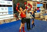 Jaunoji M.Bazytė pasaulio muaythai čempionate pelnė sidabrą, D.Dirkstys – bronzą
