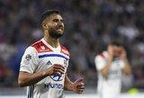 """N.Fekiras nerealizavo baudinio, o """"Lyon"""" pasitraukė iš Prancūzijos lygos taurės"""