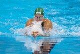 Visi keturi Lietuvos plaukikai varžysis dėl paskutinių medalių varžybose Slovakijoje