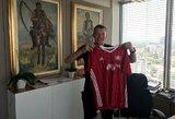 Oficialu: V.Černiauskas gins Bulgarijos vicečempionų vartus