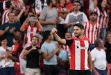 """Pergalingą įvartį į """"Barcelonos"""" vartus pelnęs A.Adurizas: """"Padėsiu """"Athletic"""" iki paskutinės dienos"""""""