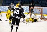 """Vilniaus derbyje ir vėl pranašesni buvo """"Hockey Punks"""" ledo ritulininkai"""