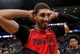 """""""Celtics"""" su E.Kanteriu susitarė dėl gana kuklaus kontrakto"""
