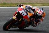 """D.Pedrosa po pusantrų metų pertraukos laimėjo """"MotoGP"""" kvalifikaciją"""