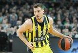 """Turkijoje prireiks lemiamo mūšio: galingą spurtą surengusi """"Fenerbahče"""" išlygino finalo serijos rezultatą"""