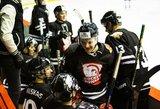 """Debiutantų įvarčiai padėjo """"Hockey Punks"""" įveikti iššūkį metusius lygos naujokus"""