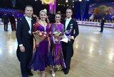 Šokėjai E.Sodeika ir I.Žukauskaitė Kinijoje laimėjo sidabro medalius