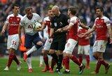 """Šiaurės Londono derbis: baudinio nerealizavę """"Arsenal"""" sužaidė lygiai su """"Tottenham"""""""