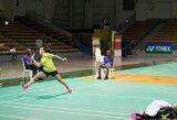 Abu geriausi Lietuvos badmintonininkai Peru liko be pergalių