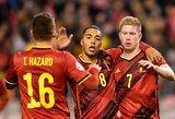 EURO2020: Belgija atranką užbaigė triuškinama pergale, laimėjo ir Lenkija