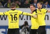 """""""Borussia"""" svečiuose užtikrintai įveikė """"Hoffenheim"""""""