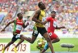 Sprinteris U.Boltas užtikrintai pateko į pasaulio lengvosios atletikos čempionato finalą