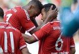 """Draugiškos rungtynės: """"Bayern"""" iškovojo užtikrintą pergalę, """"Borussia"""" ir """"Monaco"""" pralaimėjo (+ kiti rezultatai)"""
