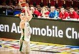 Lietuvos dvidešimtmečių rinktinė Europos čempionate liko devinta