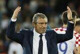 """Portugalijos treneris F.Santosas: """"Mūsų tikslas bus laimėti pasaulio čempionatą Rusijoje"""""""