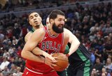 """Sezono pradžioje susimušęs """"Bulls"""" duetas vedė komandą į netikėtą pergalę"""