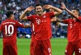 """R.Lewandowskio pelnytas """"hat-trickas"""" padovanojo """"Bayern"""" pirmą pergalę Vokietijoje"""