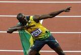 U.Bolto sėkmės paslaptis: Londone jis bėgo galvodamas apie savo merginos užpakalį